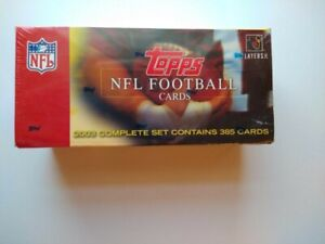 2003 Topps Football Factory Sealed 385 Card Complete Set Witten, Palmer, Suggs