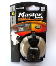 Master Lock M40Xkad 2-3/4-in 70Mm Silver Magnum Shackle Keyed Discus Padlock