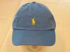 Mens Polo Ralph Lauren hat cap golf casual Jewel Blue 4331004 adjustable classic