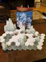 Heroscape: Thaelenk Tundra Expansion Set 100% Complete Includes Instruction Book
