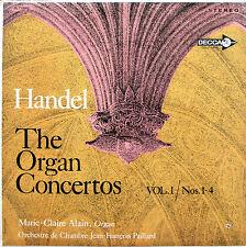 Handel The Organ Concertos Vol. 1 Marie-Claire Alain - Decca DL 710085 Stereo