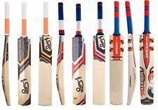 3 in 1 Pack KOOKABURRA ONYX + BUBBLE II + G N KABOOM Cricket Bats +Free Nokd~Oil