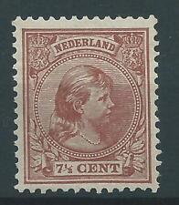 1891TG Nederland Prinses Wilhelmina  NR.36 postfris zegel zie foto's..