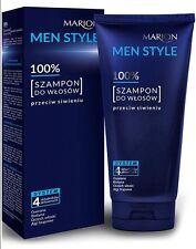 MARION MEN STYLE 100% HAIR SHAMPOO ANTI-GRAYING FOR MEN