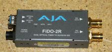 AJA FiDO-2r Dual Optical Fiber to SD/HD/3G SDI