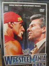 WWE WrestleMania XIX 2003 DVD