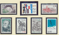 France Stamps Scott #2027//2056, Mint Never Hinged, 15 Different 1987 Issues