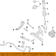 Jeep CHRYSLER OEM 07-17 Compass Rear Suspension-Spring 5105894AD