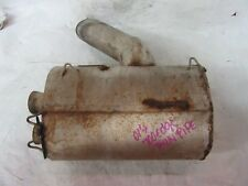 01' Polaris Edge 700 Twin Pipe Aftermarket Exhaust can Item #1257
