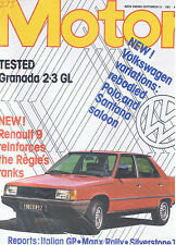 MOTOR Magazine - September 19 1981 - Test: Ford Granada 2.3 GL