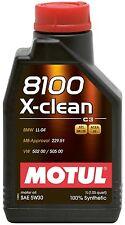 MOTUL OLIO MOTORE AUTO 8100 X-CLEAN 5W-30 ACEA C3 FLACONE da 1 LITRO
