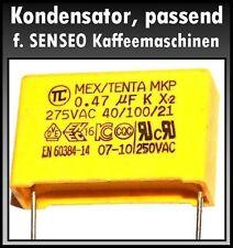 Kondensator 0,47µF 275V~ Ersatzteil passend f.Senseo Kaffeemaschine Typ7810,7820