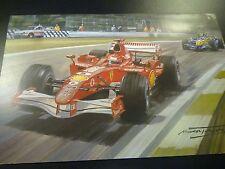 2006 San Marino GP, Imola, Ferrari Michael Schumacher, door Michael Turner