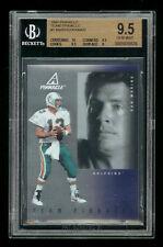 NFL • 1997 Team Pinnacle Team  #1 • Marino & Aikman BGS 9.5 Gem/Mint (POP=1)