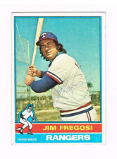 1976 Topps Baseball the late great Jim Fregosi autographed Texas Rangers card