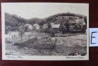 Postkarte Ansichtskarte Niedersachsen Treseburg Blick von Halde