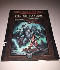 Crypt of the Smoke Dragon Fast-Play Game Dungeons&Dragons rpg TSR D&D