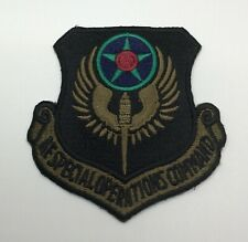 AF SPECIAL OPERATIONS COMMAND - US Air Force Subdued Patch