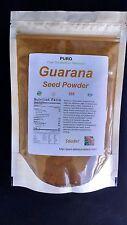 Guarana 8oz ENERGY SEED Powder Sharpness POWERFUL Non GMO PURO