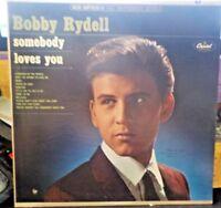 BOBBY RYDELL - SOMEBODY LOVES YOU-  ST2281 CAPITOL-LP/Vinyl/Record