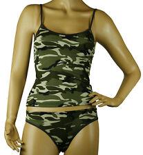 Mysocks Womens Underwear Set Khaki Military Design