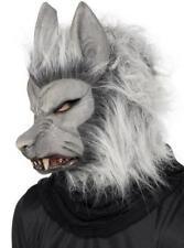 Smiffys Smiffy's Maschera adulto in Lattice Lupo