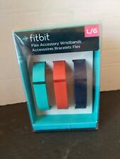 New Fitbit Flex Accessory Wristbands Bracelets Large Navy/Teal/Red (pack of 3)