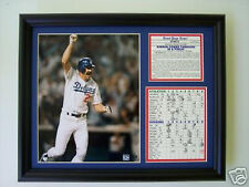 Los Angeles Dodgers Kirk Gibson World famous Series Home Run photo tribute