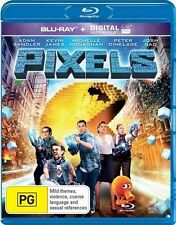 Pixels (Blu-ray Only, No UV) Family, Action, Comedy, Adam Sandler, Kevin James