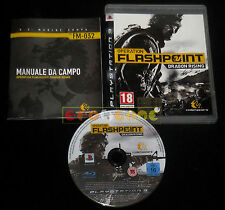 OPERATION FLASHPOINT DRAGON RISING Ps3 Versione Italiana 1ª Edizione •• COMPLETO