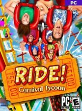Ride! Carnival Tycoon  Build Your Own Carnival from the Ground Up  New in Box