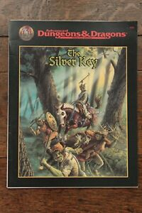 The Silver Key AD&D 2nd Edition Module Adventure Dungeon TSR 9508 1996 Fine