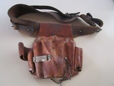 Vintage -CRAFTSMAN #940462 Electricians Tool Bag + Leather Belt- Adjustable belt
