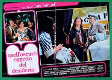T62 FOTOBUSTA QUELLO OSCURO OGGETTO DEL DESIDERIO LOUIS BUNUEL BOUQUET 2