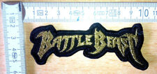 RARE WOVEN BATTLE BEAST PATCH BLACK SABBATH JUDAS PRIEST METALLICA