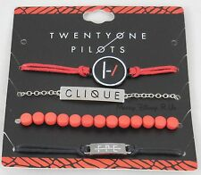 -new-21-twenty-one-pilots-band-clique-id-bracelet-set-4-pack-arm-party-logo-charm