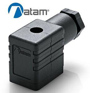 SOLENOID VALVE CONNECTOR PLUG DIN 43650 / EN175301-803 ATAM KB132000B9