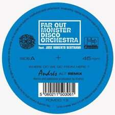 "Far Out Monster Disco Orchestr - Where Do We Go From Here NEW 12"" EP"