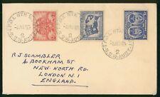 Mayfairstamps Australia 1951 TPO 1 Northwest to England Cover wwr27017
