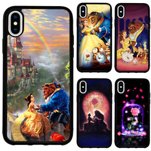 Beauty and the Beast Princess Belle Case Cover for iPhone12 Pro Max XR SE 7 8 11