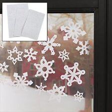 Christmas Winter Snowflake Window Clings