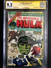 Incredible Hulk Annual 5  CGC 9.2 SSx2 (John Romita/Chris Claremont)   2nd Groot