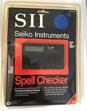 Vintage Seiko Instruments Spell Checker