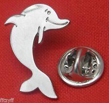 Dolphin Marine Mammal Lapel Hat Cap Tie Pin Badge Brooch