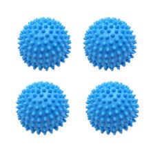 4pc Laundry Wash Dryer Balls Laundry Drying Fabric Softener Reusable