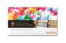 Watercolor Paint Mungyo Professional Pans Set 12 Color MWPH-12C