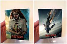 IRON MAN 3 v2 Magnet cover Flip effect for Steelbook
