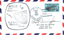 Walt CUNNINGHAM Signed Autograph First Day Cover 6 FDC AFTAL Apollo Astronaut