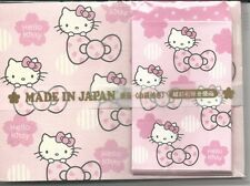 Sanrio Hello Kitty Notesheets With Envelopes From Japan