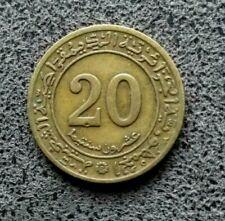 ALGERIE  ALGERIA  20 centimes 1972 etat